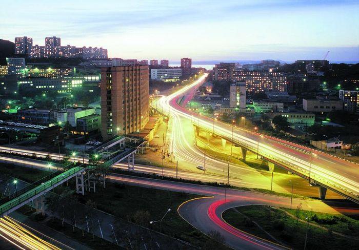 Развязка на Гоголя. Город Владивосток. Фотографии Владивостока