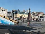 Прошлогодняя новогодняя центральная площадь Владивостока. 03 января 2011 года.. Панорамы. Фотографии Владивостока