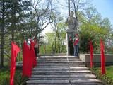 Госпиталь ТОФ. 9 мая. Памятник Герою Советского Союза Марии Цукановой